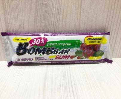 Батончик BombBar Slim 'Заряд энергии' (без сахара, без глютена) — 35 г