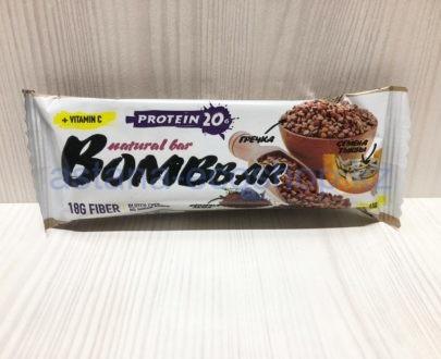 Батончик BombBar 'Гречка' (без сахара, без глютена) — 40 г