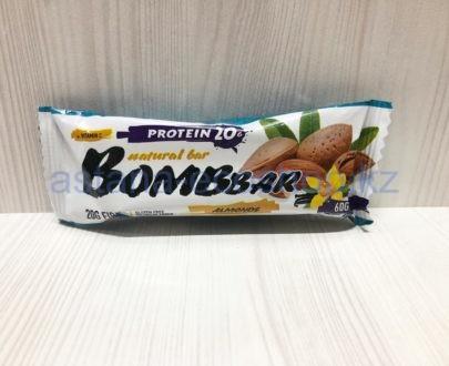 Батончик BombBar 'Миндаль' (без сахара, без глютена) — 60 г