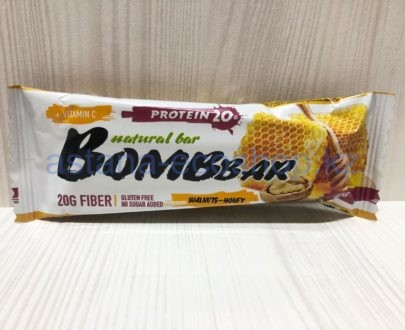 Батончик BombBar 'Медовый' (без сахара, без глютена) — 60 г