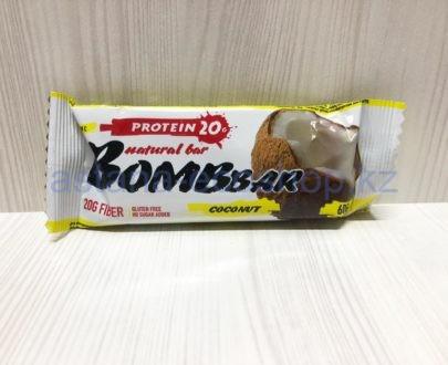 Батончик BombBar 'Кокос' (без сахара, без глютена) — 60 г