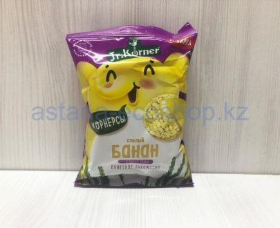 Хлебцы рисовые корнерсы 'Банан' (без сахара), цельные злаки — 30 г
