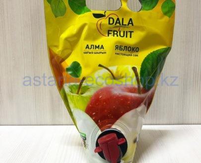 Сок яблочный неостветленный, прямого отжима — 1,5 л