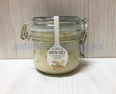 Крем-мед с кедровым орехом — 200 г