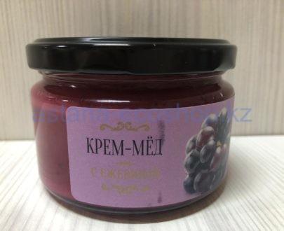 Крем-мед с ежевикой — 200 г