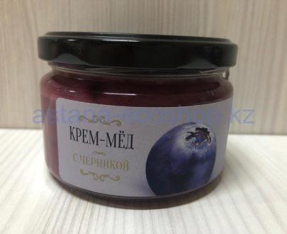 Крем-мед с черникой — 200 г