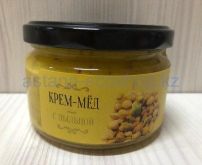 Крем-мед с пыльцой — 200 г