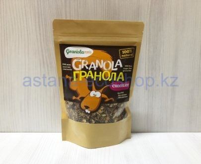 Гранола с шоколадом (без сахара, без глютена) — 200 г