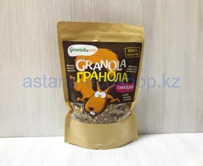Гранола с шоколадом (без сахара, без глютена) — 450 г
