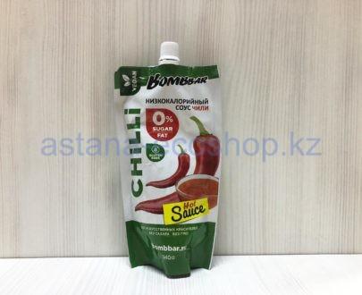 Соус BombBar 'Чили' низкокалорийный (без сахара, без глютена) — 240 г
