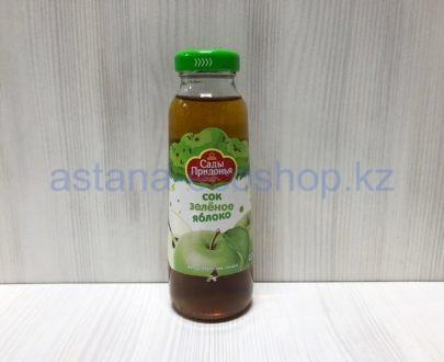 Сок из зеленых яблок, с 4 месяцев (без сахара) — 0,3 л