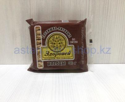 Хлебцы 'Здоровей' гречишно-рисовые (без глютена) — 90 г