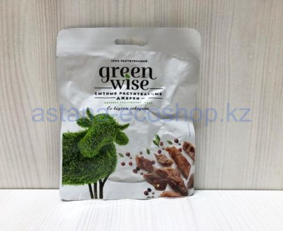 Сытные растительные джерки Green Wise со вкусом говядины — 36 г