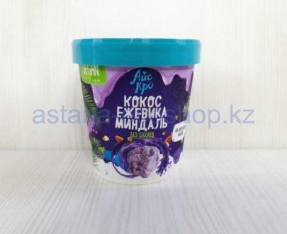 Сорбет (десерт) замороженный 'Кокос ежевика миндаль' (без сахара) — 75 г