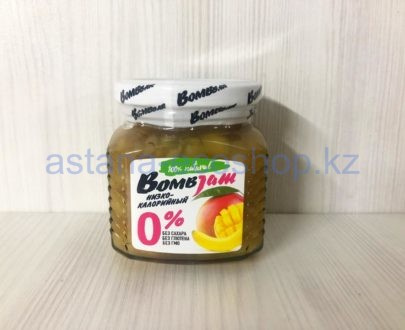 Низкокалорийный джем BombBar 'Манго банан' (без сахара, без глютена) — 250 г