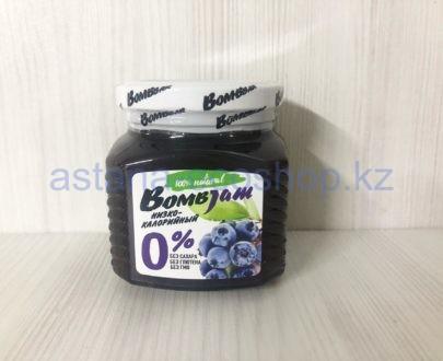 Низкокалорийный джем BombBar 'Черника голубика' (без сахара, без глютена) — 250 г