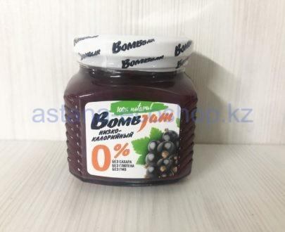 Низкокалорийный джем BombBar 'Черная смородина' (без сахара, без глютена) — 250 г