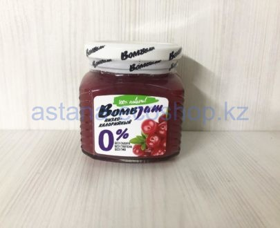 Низкокалорийный джем BombBar 'Брусника' (без сахара, без глютена) — 250 г