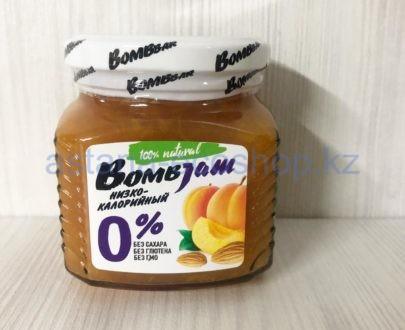 Низкокалорийный джем BombBar 'Абрикос миндаль' (без сахара, без глютена) — 250 г