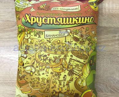 Хрустяшкино банановый край кукурузные палочки (без сахара, без глютена) — 90 гр