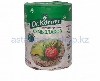 Dr. Korner хлебцы хрустящие Семь злаков 100 гр 420